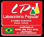 LABORATÓRIO POPULAR - ACOPIARA/CE