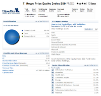 T. Rowe Price Equity Index 500 Fund