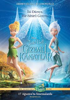 Tinkerbell: Gizemli Kanatlar Türkçe Dublaj tek part full hd kesintisiz donmadan film İzle