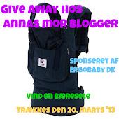 Giveaway hos Annas mor blogger