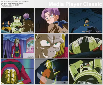 Download Film / Anime Dragon Ball GT Episode 13 Bahasa Indonesia