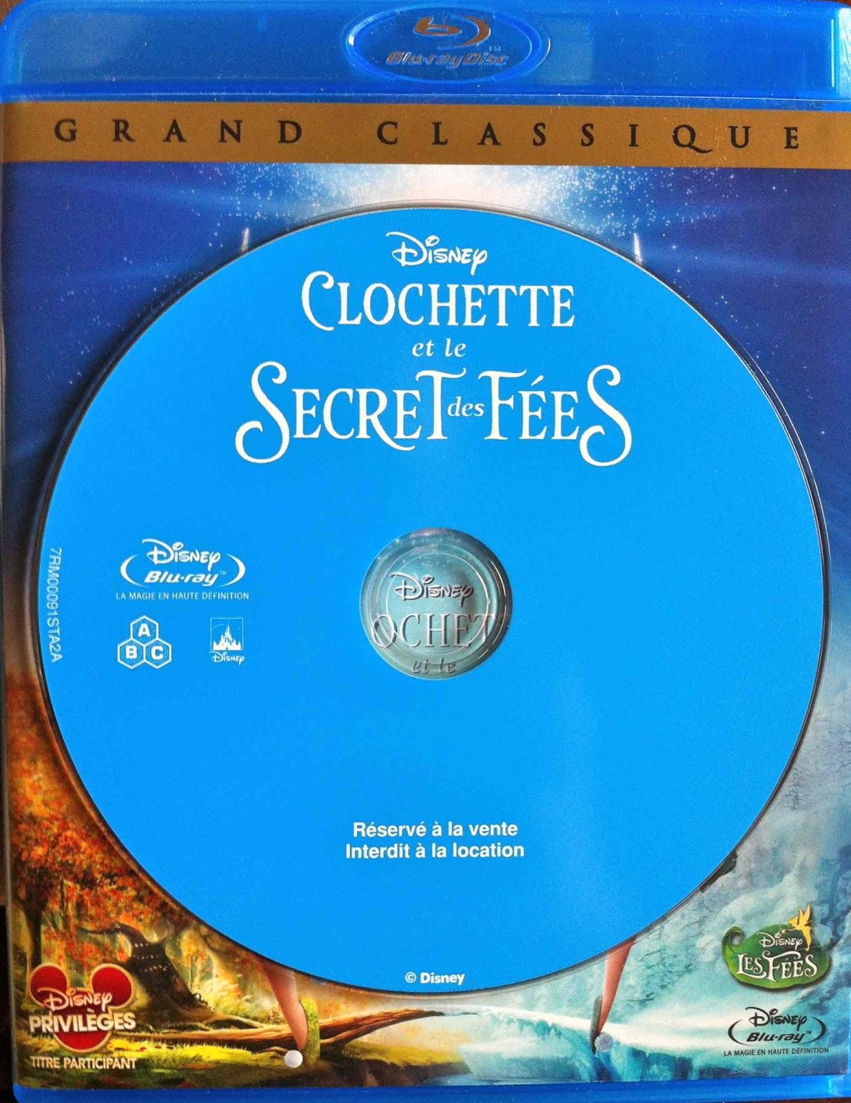 Magic doudou club clochette et le secret des f es test blu ray - La fee clochette et le secret des fees ...