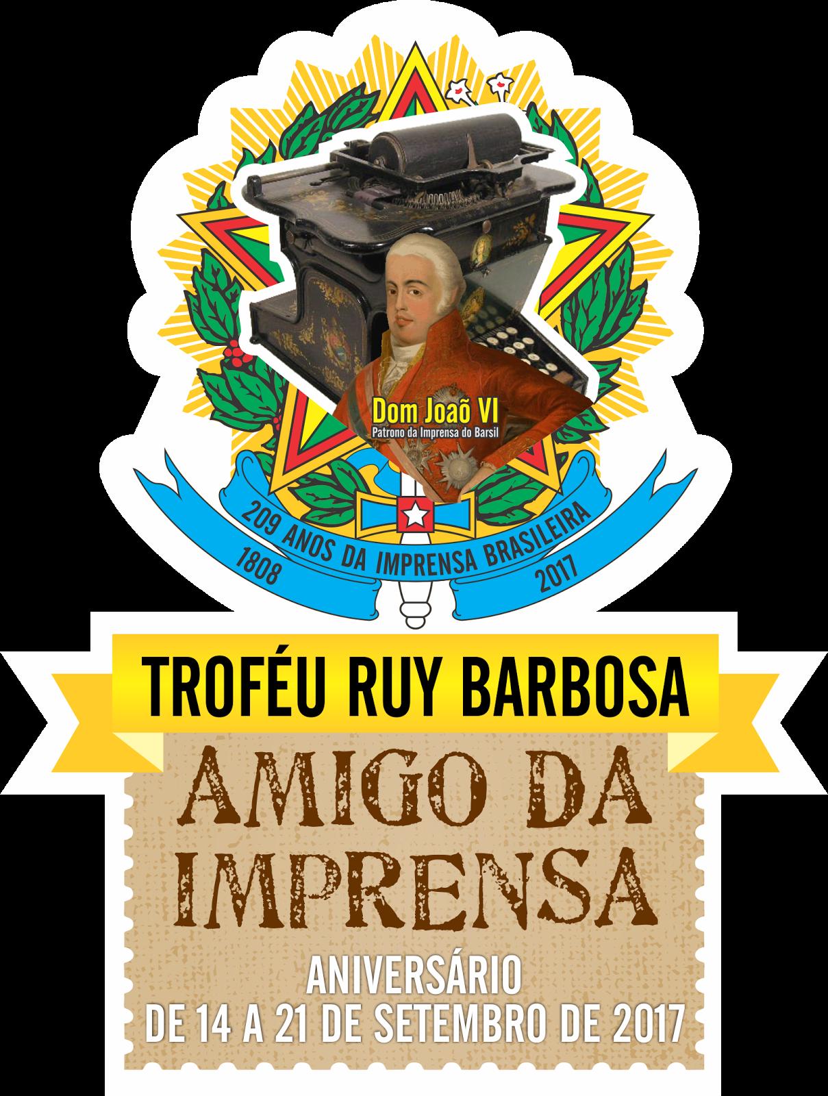 O PATRONO DA IMPRENSA OFICIAL DO BRASIL  FOI E SERA LEMBRADO PARA SEMPRE NOS 209 ANOS  DO BRASIL