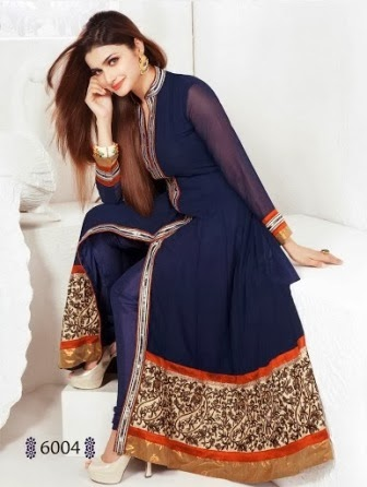 Anarkali long frocks