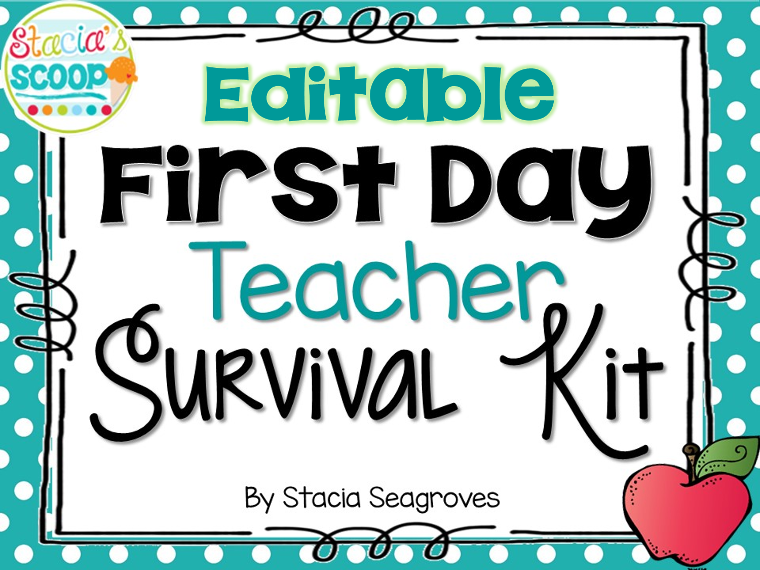 http://www.teacherspayteachers.com/Product/Editable-First-Day-Teacher-Survival-Kit-Card-Freebie-1408829