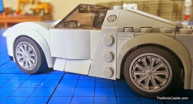 LEGO Porsche 918 Spyder 75910 Hybrid Supercar Speed Champions side doors