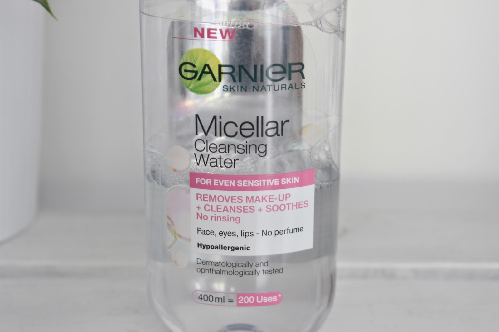 Garnier Micellar Water // Review