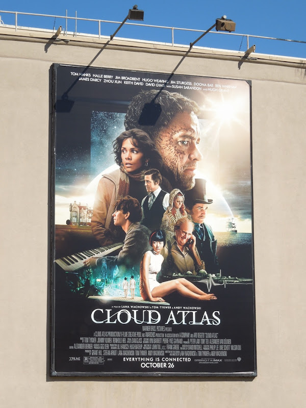 Cloud Atlas movie billboard