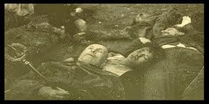 LA MORTE DI MUSSOLINI ARTICOLO PUBBLICATO DAL GIORNALISTA GENTIZON