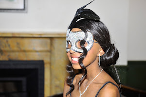Shania at the Masquerade Ball