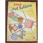 1940's crochet pot holders booklet