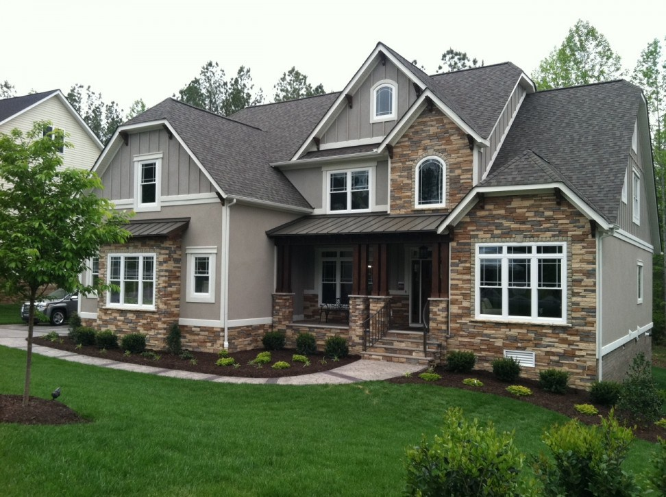 Ranch-style House - House Siding Design