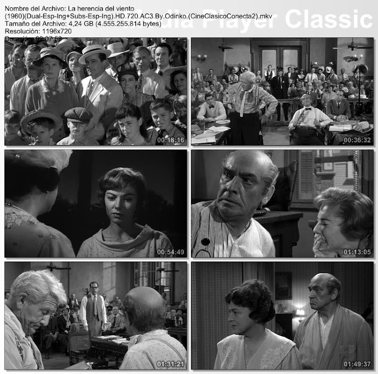 La herencia del viento | 1960 | Inherit the Wind | Secuencias | Fotografías