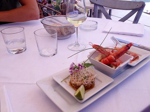 Paloma Beach Food