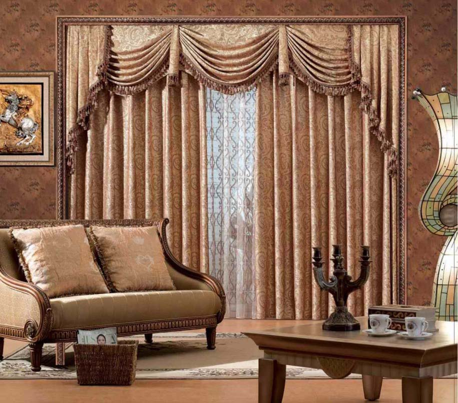 Decorating Living Room With Modern Minimalist Curtain Design