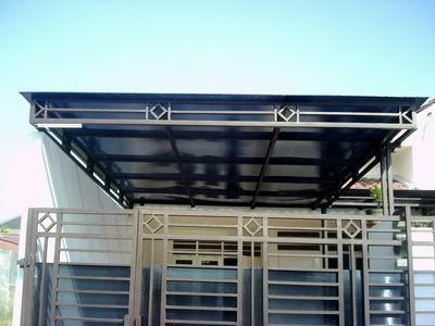 Jasa Pembuatan Canopy, Tralis dan  Baja Ringan di Lampung