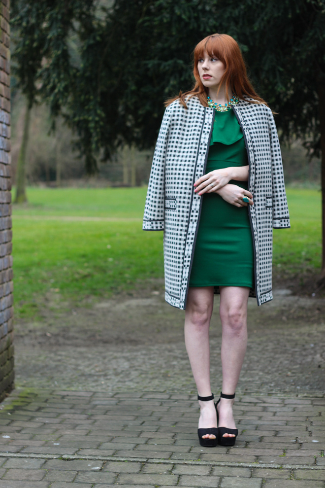 House of Fraser Green Therapy Dress