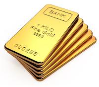 Harga Emas kembali terkoreksi ke level harga 1.268