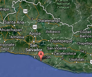 El_Salvador_earthquake_epicenter_map
