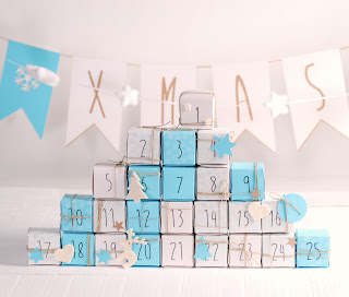 calendario de adviento cajas cajitas self packaging diy
