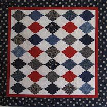 """Quilt """"Japanse Puzzel"""" 2002"""