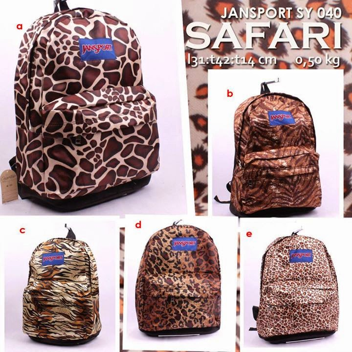 jansport murah motif safari