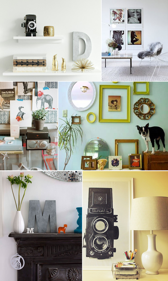 Interior styling inspiration from Pinterest