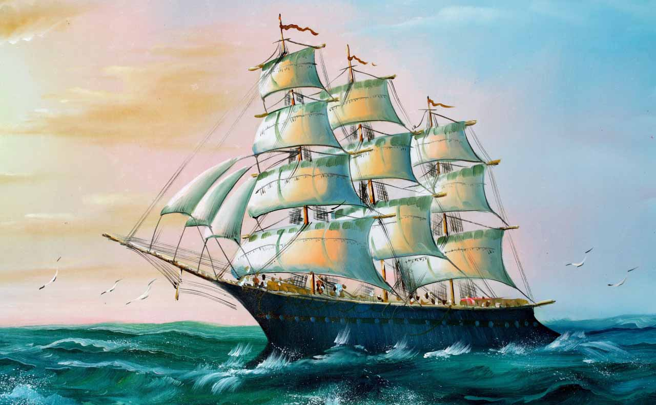 HD Wallpapers: Ships Sailing Wallpapers