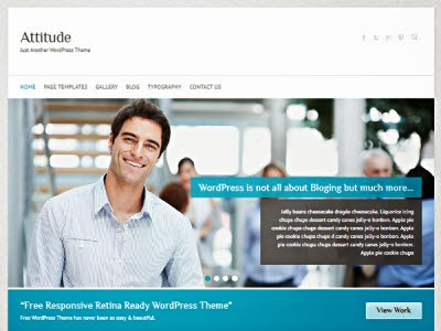 Attitude Responsive WordPress Theme
