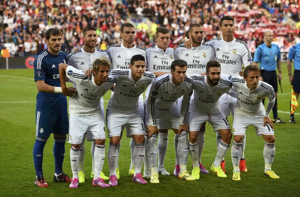 REAL MADRID TEAM PHOTO 2014