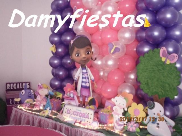 Decoracion De Fiesta Doctora Juguetes - Recuerdos y