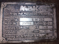 MAK motors for sale