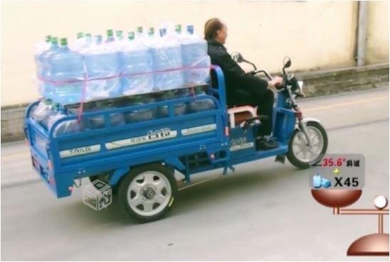 Triciclo transporte de carga