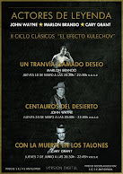 CICLO ACTORES DE LEYENDA