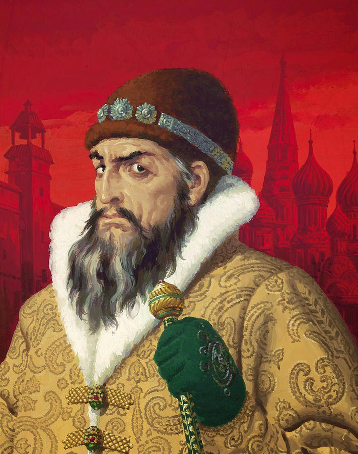ivan the terrible and the oprichnina He established oprichnina, a russian name for the policy of repression that encompassed every aspect of the society, enforced by secret police called oprichniki their symbol was a dog's head, representing their loyalty to the tsar himself.