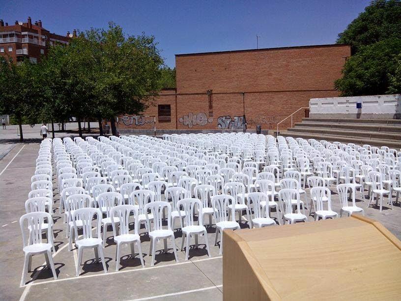 alquiler de sillas para graduacion en jaen