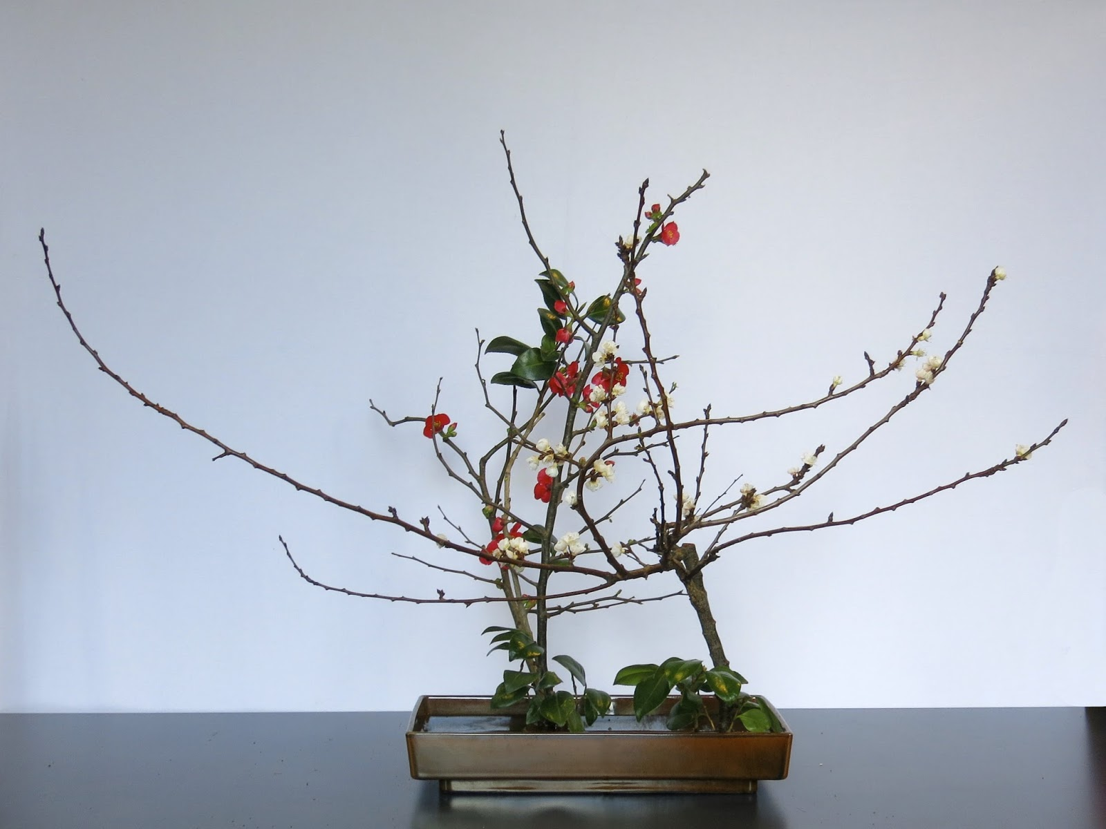 ROADSIDE IKEBANA SOGETSU MELBOURNE WORKSHOPS Part Two