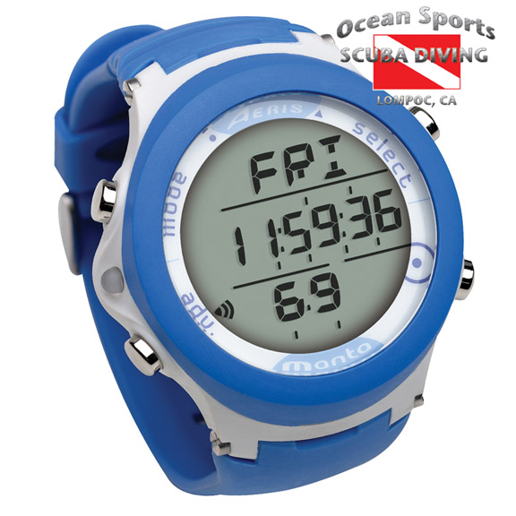 Call us for more info at 805 944 8522 for Aeris manta dive computer