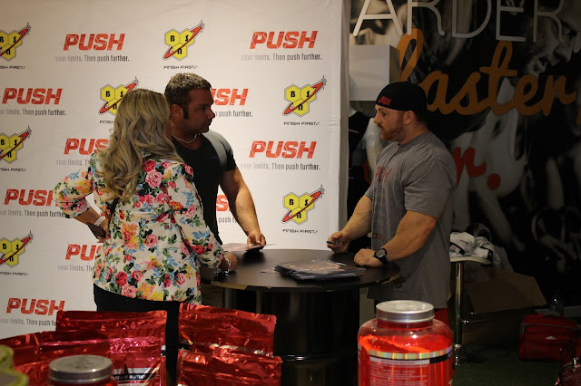 Flex Lewis at Predator Nutrition Leeds