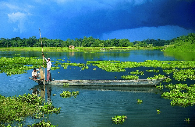 An exotic view of Majuli