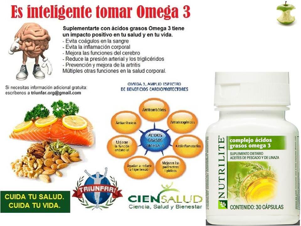 Omega 3 Beneficios