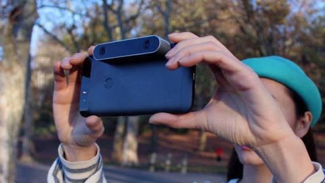 Dispositivo permite filmar em 3D com smartphone