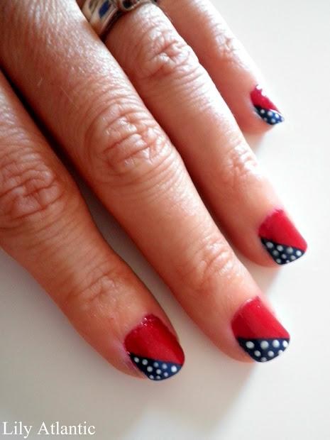 lily atlantic diy- patriotic nails