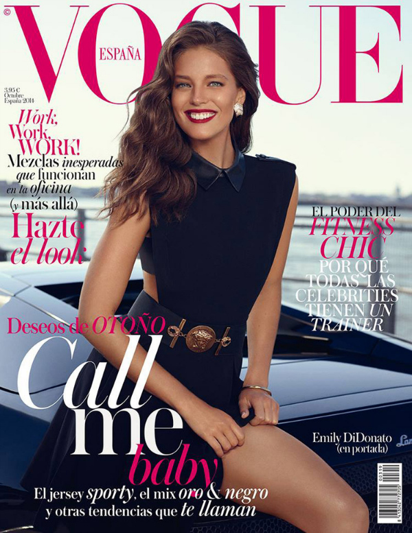 The Fashion Journalist: October 2014 Fashion Magazine Covers: The Best