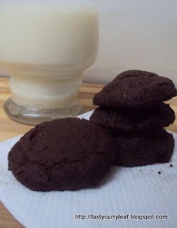 Orangy Chocolate Cookies