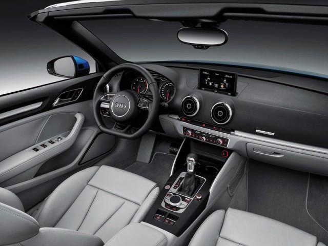 2015 Audi A3 Cabriolet interior