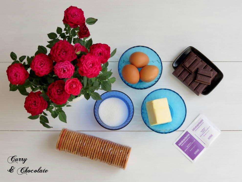 Bizcocho de galletas María - Ingredientes