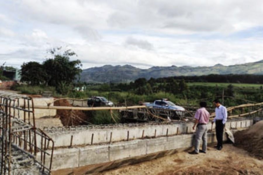 Gia Lai: Người dân ngăn cản xây dựng cầu để đòi đền bù