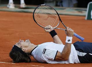 David Ferrer no cedió un solo set antes de la final contra Nadal