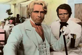 Marlon Brando as Sir William Walker, multi-utility actor Renato Salvatori as President Teddy Sanchez